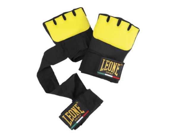 Leone 1947 Boxing Gel Under Gloves Hand Wraps - Yellow